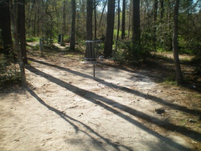 Bear Branch Sportsfield Park, Main course, Hole 18 Putt