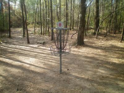 Bear Branch Sportsfield Park, Main course, Hole 8 Putt