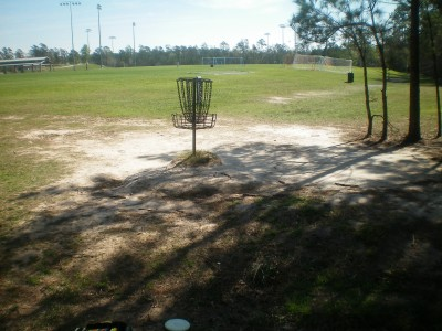 Bear Branch Sportsfield Park, Main course, Hole 17 Putt