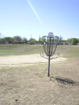 Universal City Park, Main course, Hole 2 Reverse (back up the fairway)