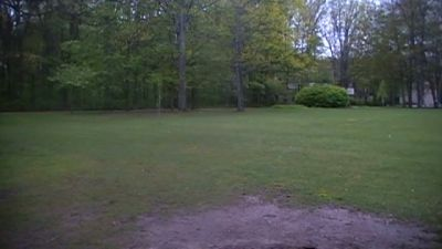 Northwestern Michigan College, Main course, Hole 8 Tee pad
