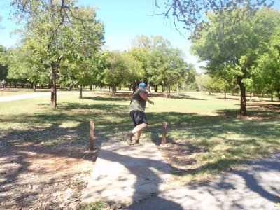 Lucy Park, Main course, Hole 8 Tee pad