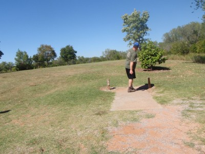 Lucy Park, Main course, Hole 12 Tee pad