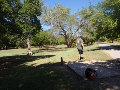 Lucy Park, Main course, Hole 7 Tee pad