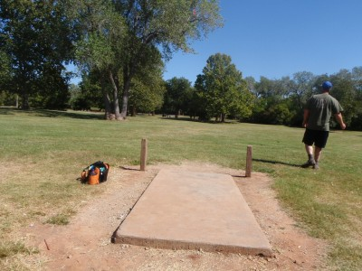 Lucy Park, Main course, Hole 1 Tee pad