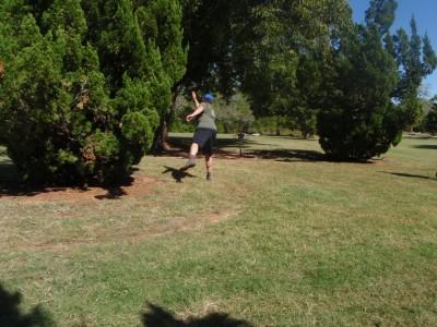 Lucy Park, Main course, Hole 15 Short approach