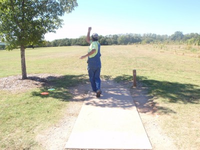 Lucy Park, Main course, Hole 13 Tee pad