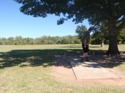 Lucy Park, Main course, Hole 14 Tee pad