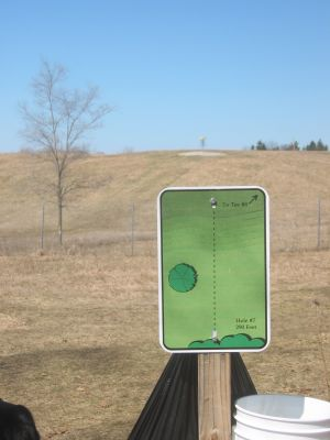 Tim Osmond Sports Complex, Main course, Hole 7 Tee pad