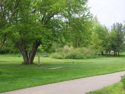 Jericho Lake, Main course, Hole 11 Long tee pad