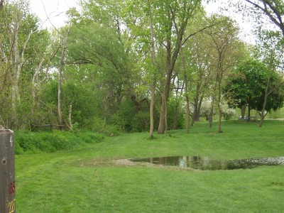 Jericho Lake, Main course, Hole 4 Tee pad