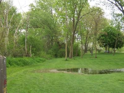 Jericho Lake, Main course, Hole 4 Tee pad