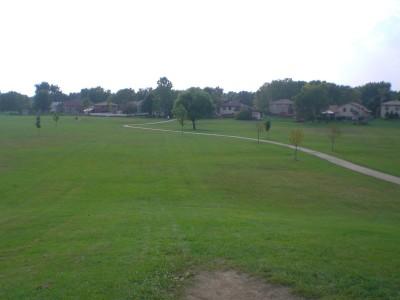 Sunrise Park, Main course, Hole 13 Tee pad