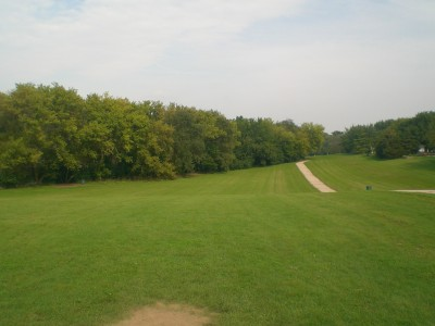 Sunrise Park, Main course, Hole 5 Tee pad