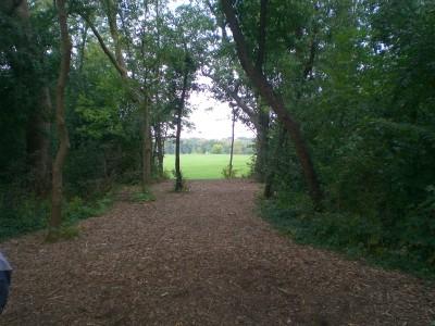 Sunrise Park, Main course, Hole 3 Tee pad