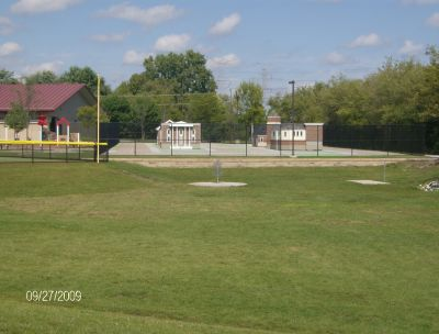 Twin Creeks Park, Main course, Hole 2 Tee pad