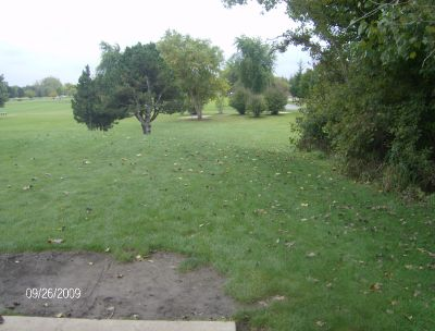 Willow Stream Park, Main course, Hole 3 Tee pad
