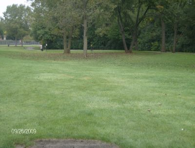 Willow Stream Park, Main course, Hole 6 Tee pad