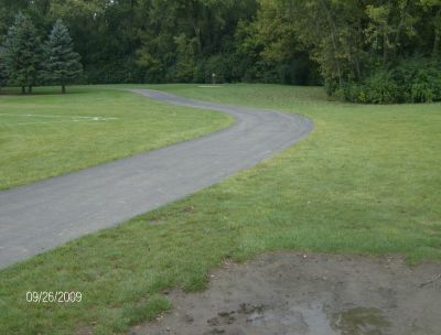 Willow Stream Park, Main course, Hole 4 Tee pad