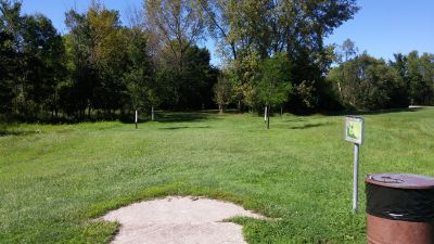 Community Park, Main course, Hole 3 Tee pad