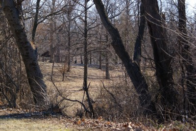 Woodland Park, Main course, Hole 3 Long tee pad