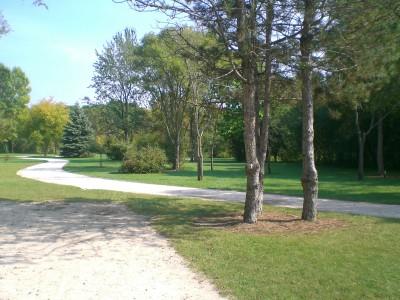 Lippold Park, Main course, Hole 10 Tee pad