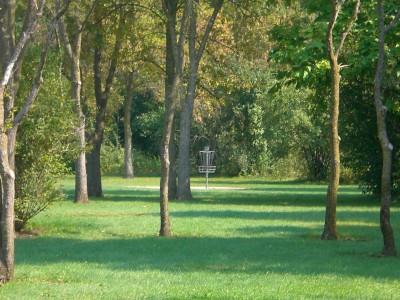 Lippold Park, Main course, Hole 10 Midrange approach