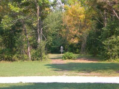 Lippold Park, Main course, Hole 7 Midrange approach