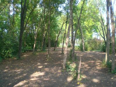 Lippold Park, Main course, Hole 4 Tee pad