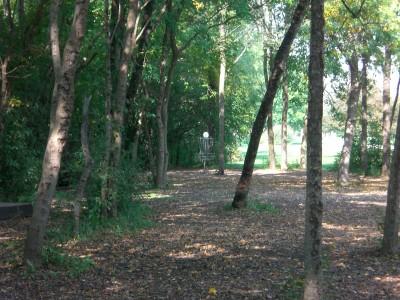 Lippold Park, Main course, Hole 4 Midrange approach