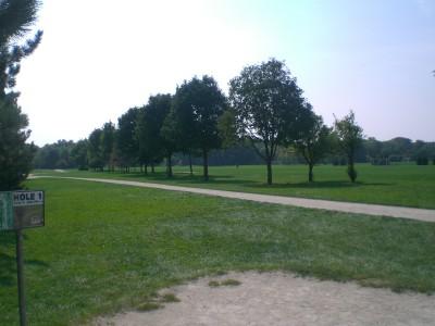 Lippold Park, Main course, Hole 1 Tee pad