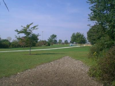 Lippold Park, Main course, Hole 18 Tee pad