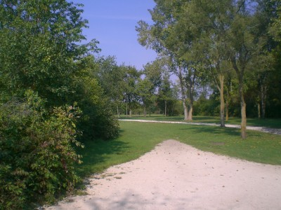 Lippold Park, Main course, Hole 16 Tee pad