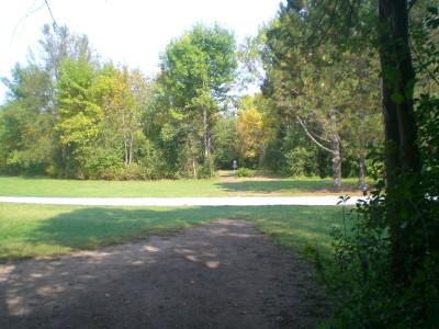 Lippold Park, Main course, Hole 7 Tee pad