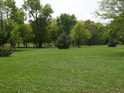 Prairie Park, Main course, Hole 4 Tee pad