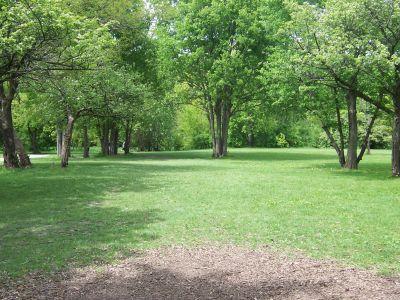 Prairie Park, Main course, Hole 5 Tee pad