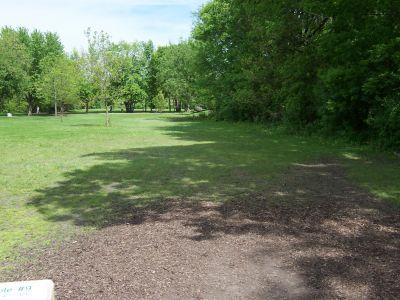Prairie Park, Main course, Hole 9 Tee pad