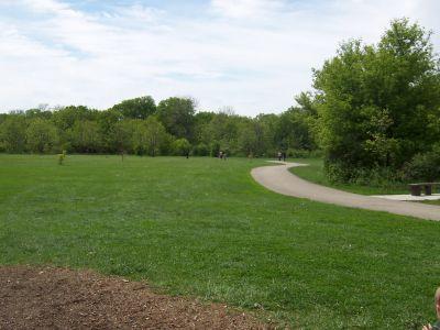 Prairie Park, Main course, Hole 6 Tee pad