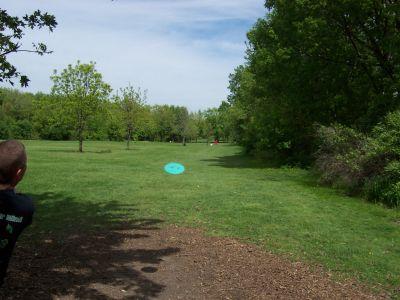Prairie Park, Main course, Hole 8 Tee pad