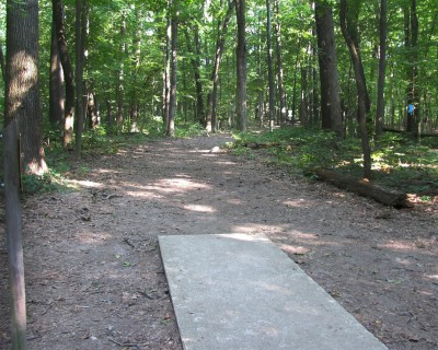 Illinois Central College, Main course, Hole 13 Tee pad