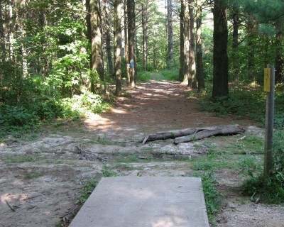 Illinois Central College, Main course, Hole 3 Tee pad