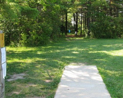 Illinois Central College, Main course, Hole 1 Tee pad