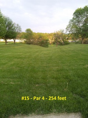Richmond Hill Park, Main course, Hole 15 Tee pad