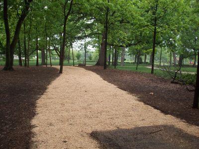 Warren Township Park, Main course, Hole 6 Tee pad