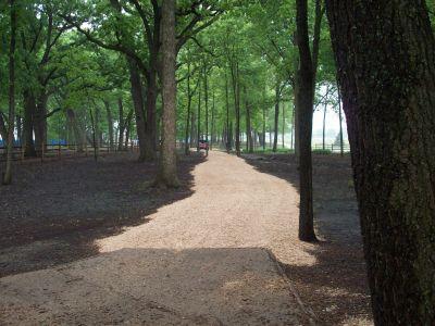 Warren Township Park, Main course, Hole 3 Tee pad