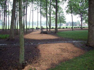 Warren Township Park, Main course, Hole 1 Short approach