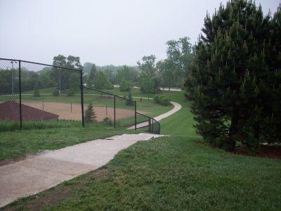 Warren Township Park, Main course, Hole 8 Tee pad