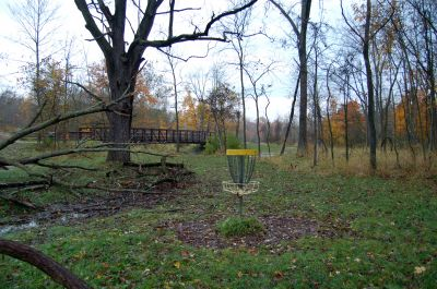River Bends, Main course, Hole 8 Reverse (back up the fairway)