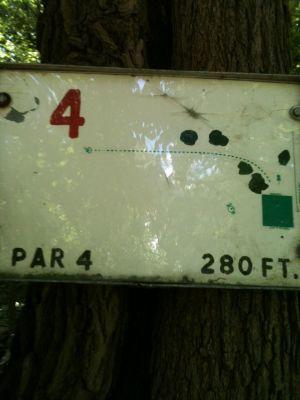 West Park, Main course, Hole 4 Tee pad