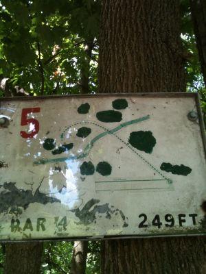 West Park, Main course, Hole 5 Tee pad